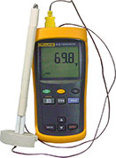 Fluke Digital Pyrometer with single thermocouple